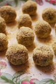 Vegetarian meatballs — Stock Photo