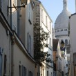 Sacre Coeur, Montmartre, Paris — Stock Photo