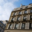 Old apartment building, Paris — Stock Photo