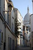 Sacre coeur, montmartre, parigi — Foto Stock
