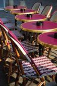 Outdoor cafe, Paris — Stock Photo