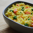 Stock Photo: Basmati rice curry