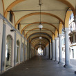 Arched portico, Novara — Stock Photo