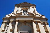 St. Gaudenzio church facade, Novara — Stock Photo