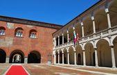 Broletto palace, novara — Stockfoto
