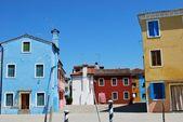 Colorful houses — 图库照片