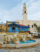 Fountain in Jaffa — Stock Photo