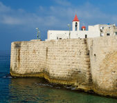 The walls of Acre — Stock Photo