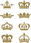 Coroas — Vetorial Stock