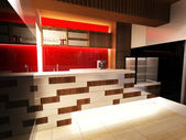 Bar Interior Design — Stock Photo