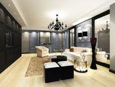 Elegant Living room — Stock Photo