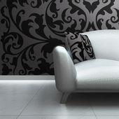 Ein sofa — Stockfoto