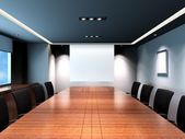 Office meeting room — Stock Photo