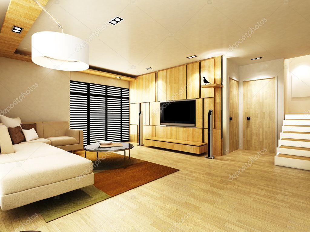 Wohnzimmer — Stockfoto © etse1112 #9632536