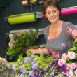 Florist working in store — Stock Photo #9742943