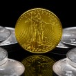 Uncirculated 2011 American Gold Eagle coin — ストック写真