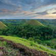 Chocolate Hills in Bohol, Philippines — Stock Photo