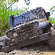Off road car dirt — Stock Photo