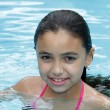 Girl swimming - Foto Stock