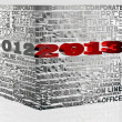 2013 New Year — Stock Photo #9555339