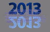 2013 New Year — Stock Photo