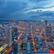 Frankfurt am Main at night — Stock Photo #8471772
