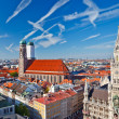Royalty-Free Stock Photo: Aerial view of Munchen