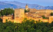 阿罕布拉宫、 格拉纳达、 西班牙 — 图库照片