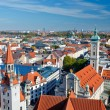Royalty-Free Stock Photo: Aerial view of Munich