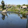 La Brea Tar Pits — Stock Photo