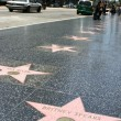 The Walk Of Fame — Stock Photo