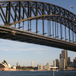The Sydney Harbour Bridge — Stock Photo