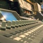 Mixing Desk — Stock Photo