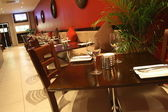 Tavoli ristorante — Foto Stock