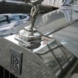 Stock Photo: Rolls Royce emblem