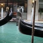Gondolas in Venice — Stock Photo