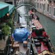 Foto Stock: Gondolas in Venice