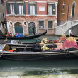 Traditional Gondolas in Venice — Foto de stock #8352825