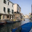 Channel in Venice — Stock Photo