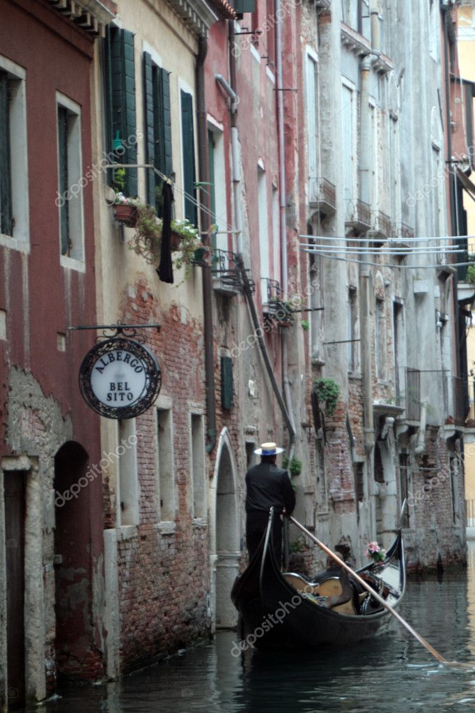 Gondola in Venice  Stock Photo #8352683
