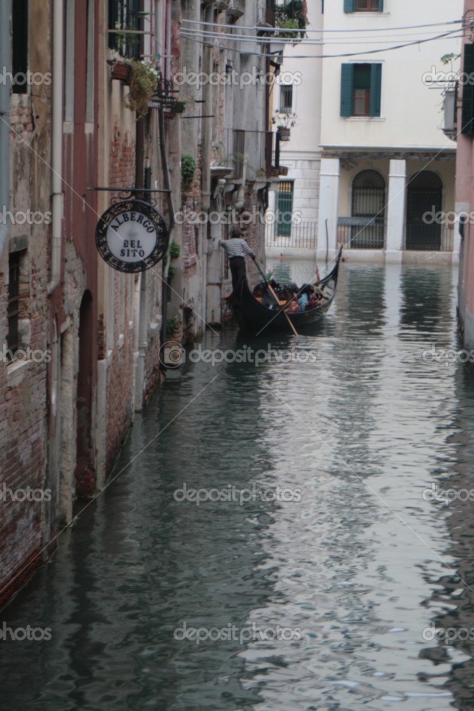 Gondola in Venice — Stock Photo #8352697