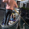 Gondolier in Venice — Stock Photo #8368443