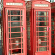 Royalty-Free Stock Photo: Telephone boxes