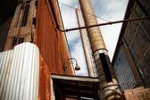 Decadência industrial — Foto Stock