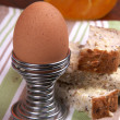 Hard Boiled Egg — Stock Photo