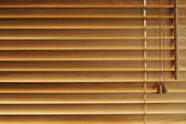 Wooden blinds background — Stock Photo