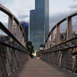 Stock Photo: Rialto from footpath