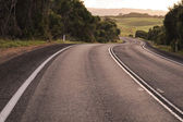 Road on hills — Stock Photo