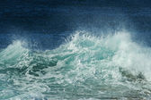 Wave spray details — Stock Photo