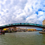 Calatrava bridge in Venice - Italy — Stock Photo #10103389